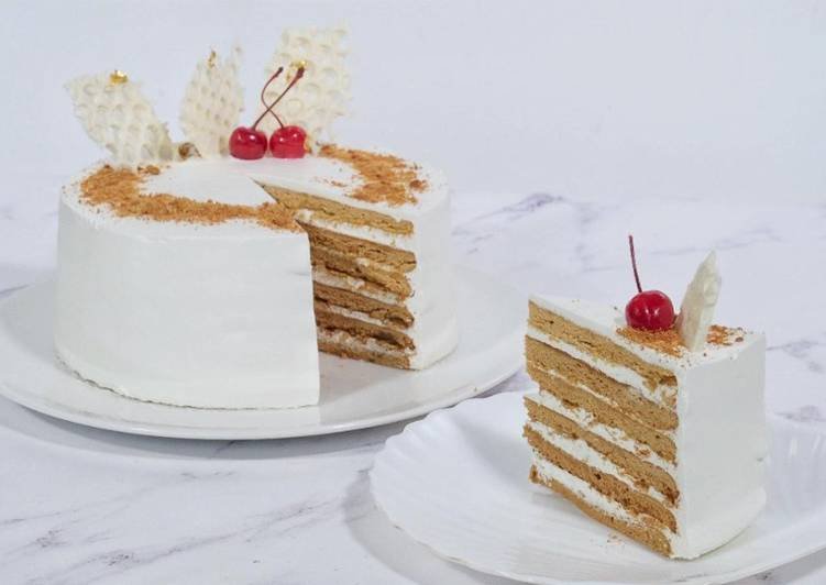 Resep Russian Honey Cake Enak Best Recipes