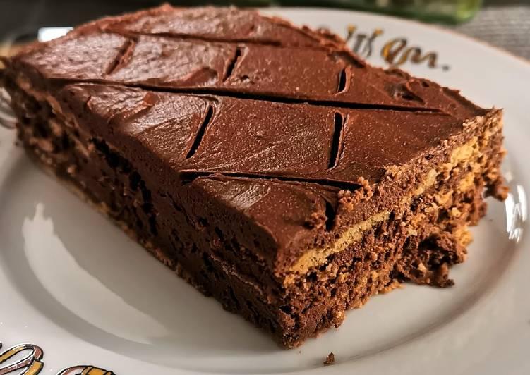 Gâteau aux biscuits thé Lu