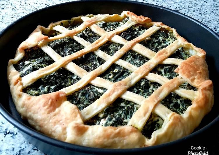 Ricetta Torta salata spinaci e ricotta