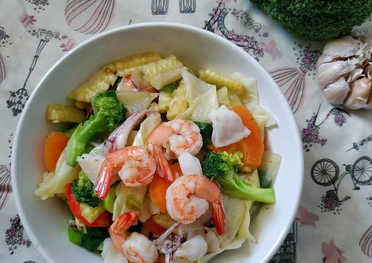 Capcay Seafood