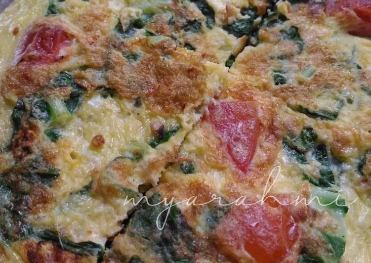 Resep Omelet Sayur (Cocok buat bekal anak 😍) Yang Mudah Bikin Nagih