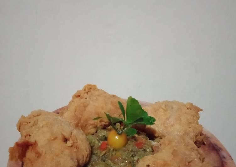 Ayam Crispy Sajiku Sambal Pedasss