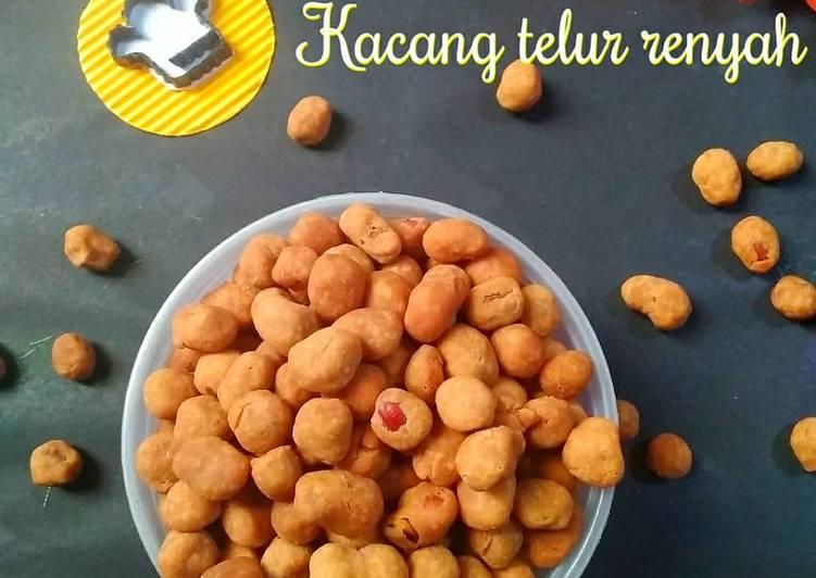 Resep Kacang telur renyah Anti Gagal
