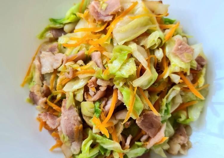 Stir Fry Cabbage Bacon