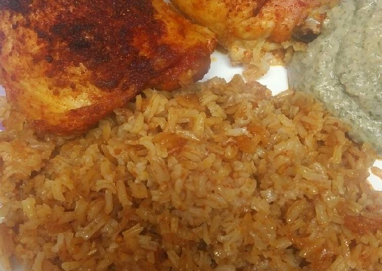 Roasted Rice and Chicken