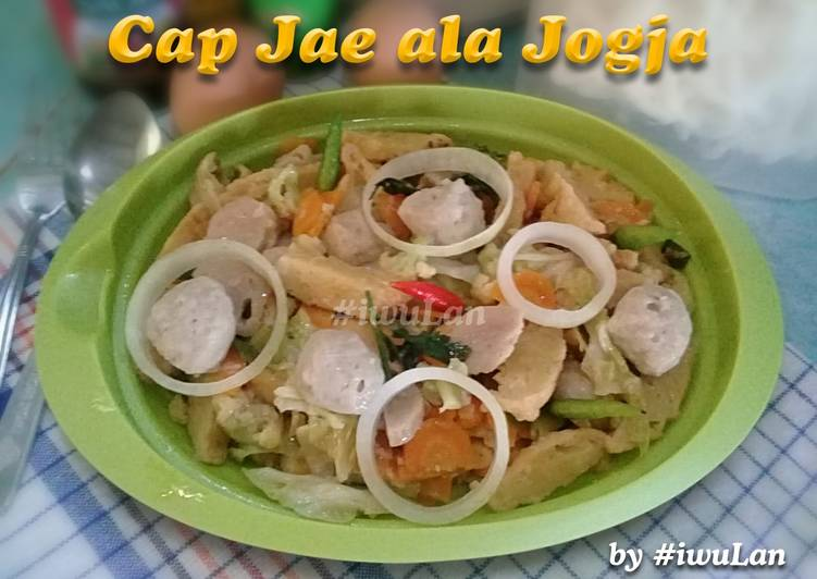 Cap Jae ala Jogja