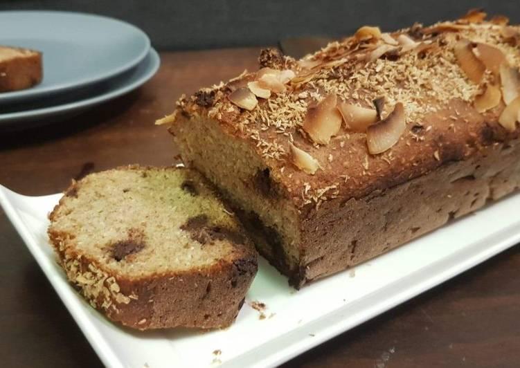 Recette Des Banana coco bread sans sucre ni beurre!