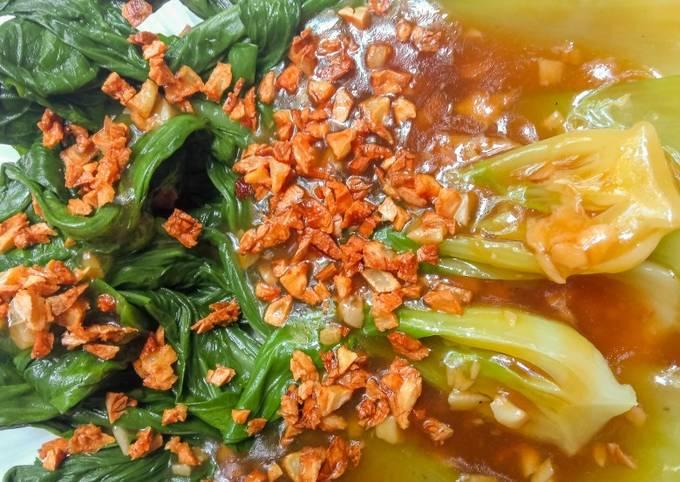 Resep Pakcoy Ala Chinese Restaurant Oleh Eleora Cookpad