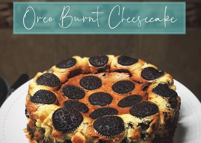 Oreo Burnt Cheesecake