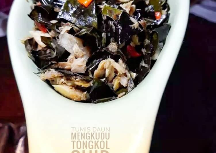 #62 Tumis Daun Mengkudu Tongkol Suir