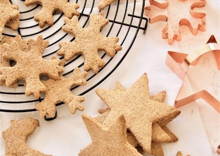 Spéculoos aux épices de Noël, bio {sans gluten, sans lait, sans oeufs