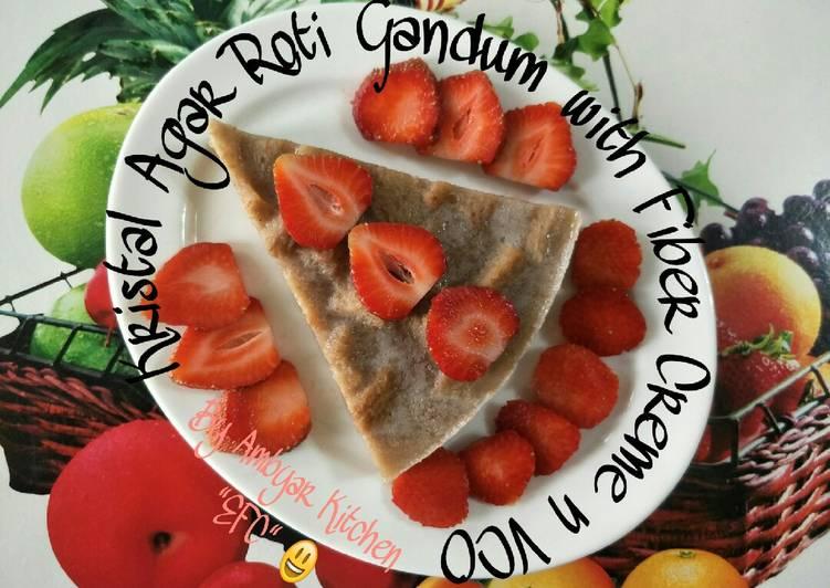 Kristal Agar Roti Gandum with Fiber Creme n VCO