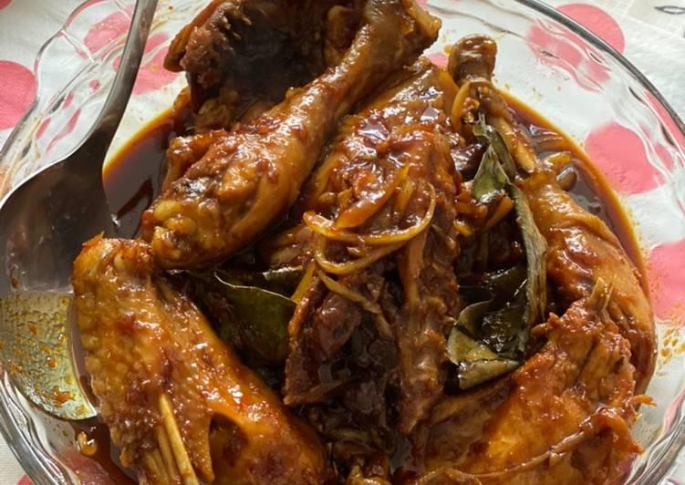 Resep Ayam kecap pedes manis yang Enak Banget