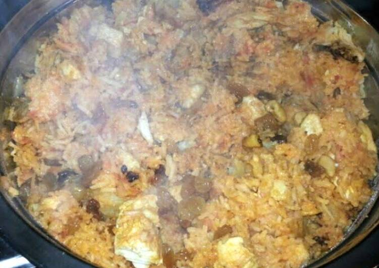 kabsa khaleeji UAE recipe (arabian gulf)