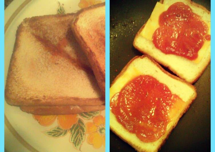 Pizza Grilled Cheeses