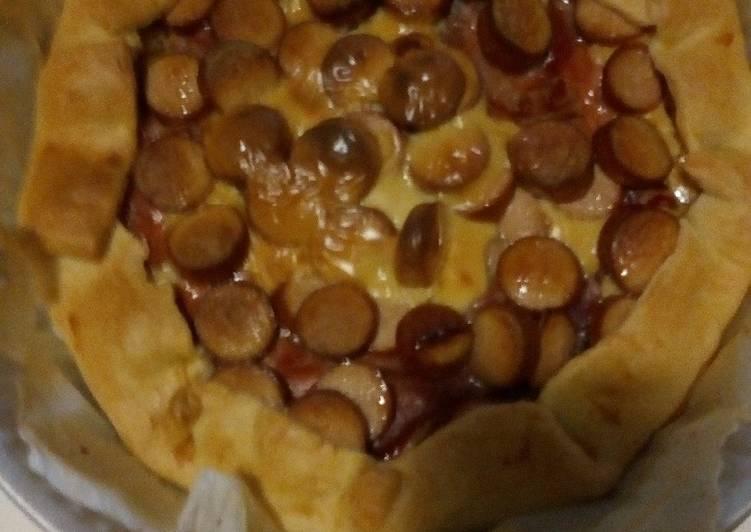 Ricetta Torta salata con speck e wurstel