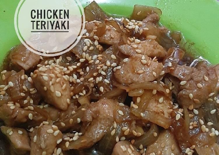Resep Chicken Teriyaki yang Enak Banget