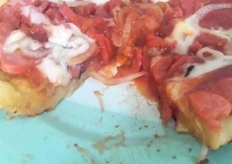 Pizza ala bunda ross