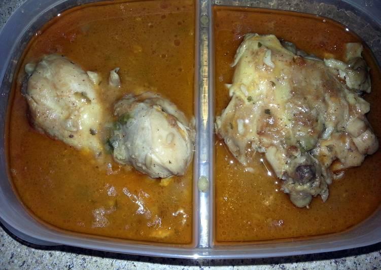Real chicken & gravy