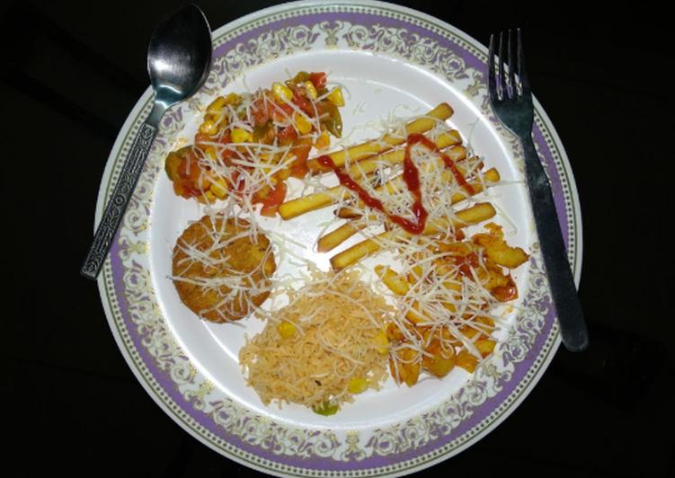 Recipe of Perfect Veg Italian Sizzler