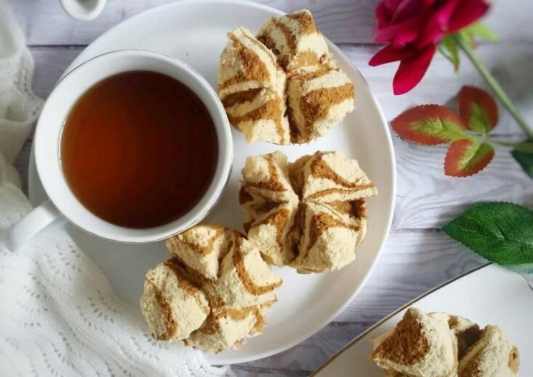 Bolu Kukus Mekar Coklat Tiramisu (No Santan, No Soda)