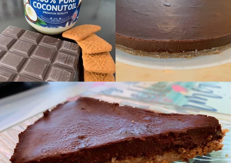 Les Meilleures Recettes de Tarte chocolat sans cuisson vegan