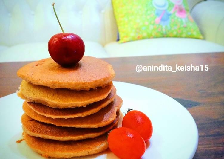 Resep Pancake Oat (sarapan sehat) Paling Mudah