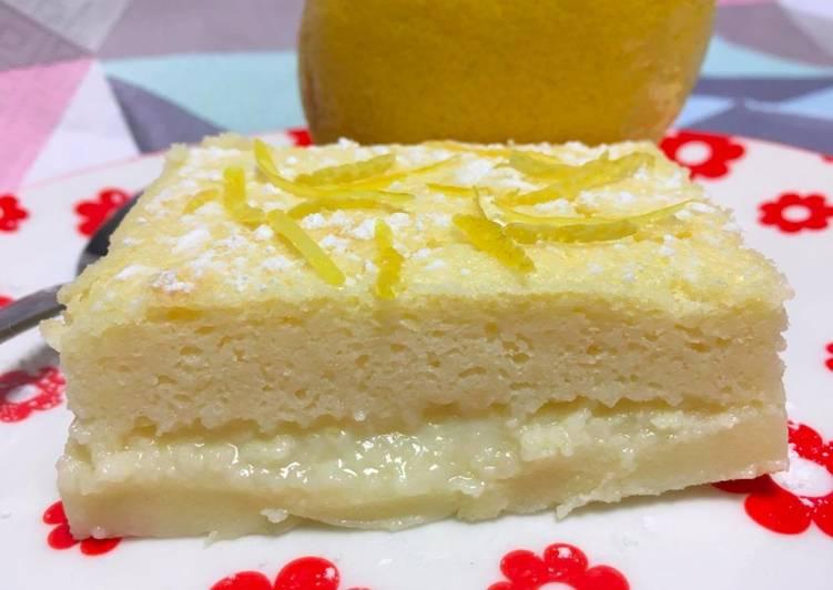 Recette Parfait Gâteau magique au citron
