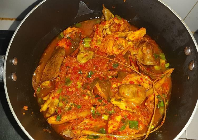 Ayam Woku Rempah Pedas