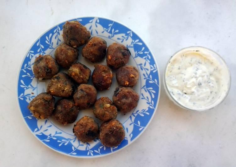 Recipe of Speedy Aubergine balls