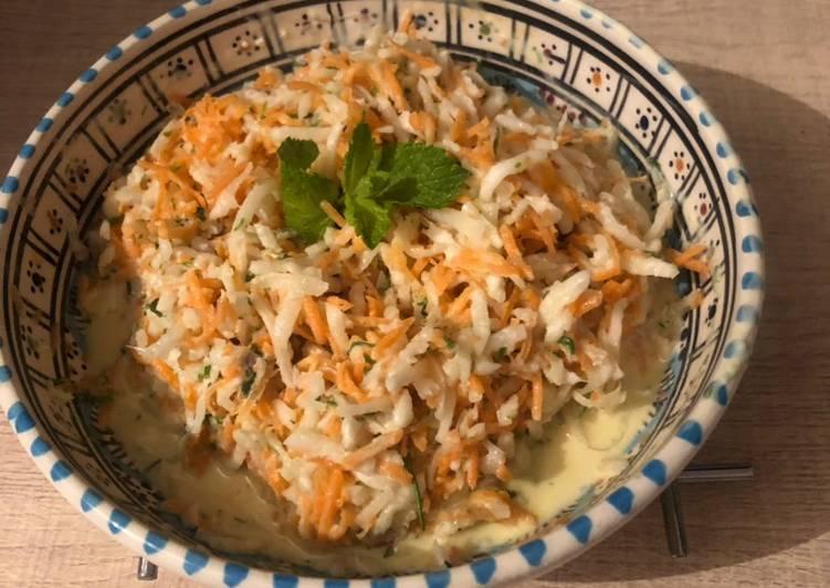 recette Salade rafraîchissante délicieux