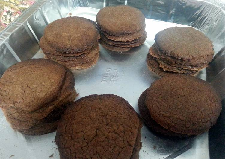 Simply delicious chocolate spread cookies
