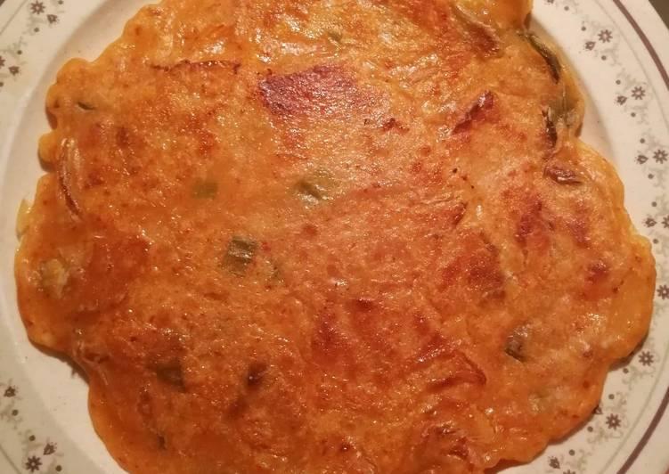 Steps to Make Award-winning Kimchi Pancakes