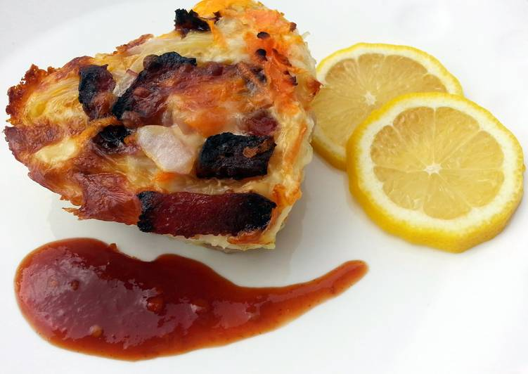 Recipe: Perfect LG CRUSTLESS NOODLE QUINCHE