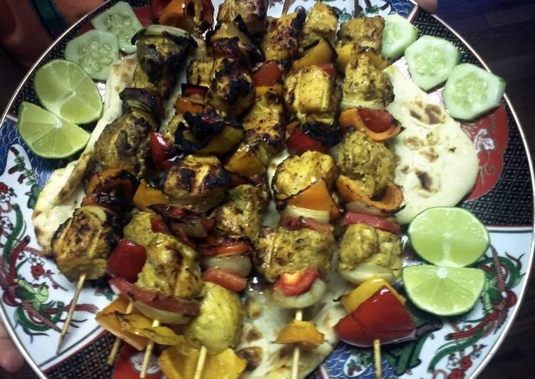 Steps to Make Favorite chicken kabab