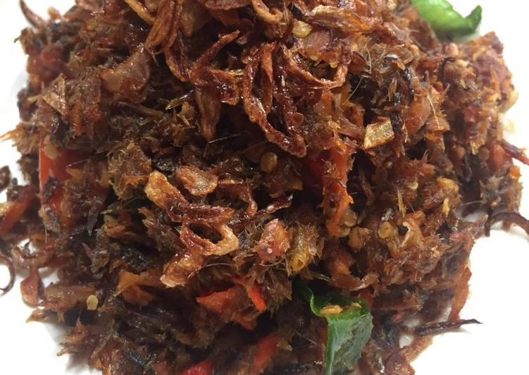 Sambal Roa Kering super Spicy