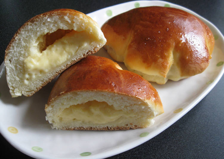 Use Food to Improve Your Mood Cream Pan (Custard Buns)