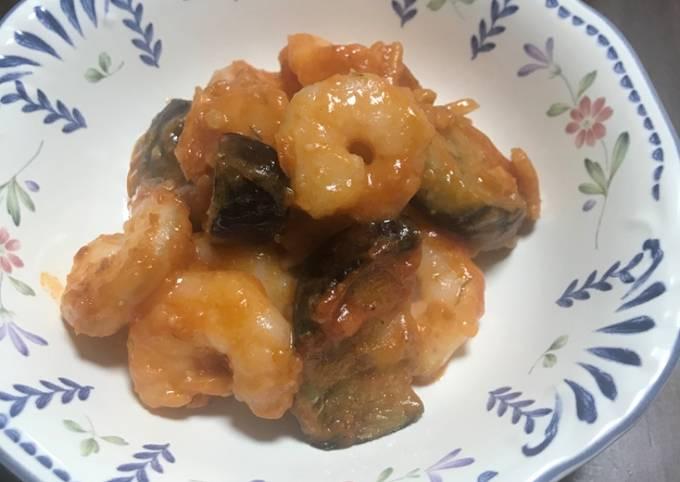 How To Make Chilli sauce shrimp Tasty