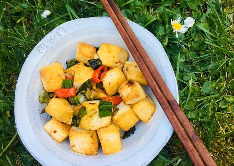 Recipe of Award-winning Salt and Pepper Tofu