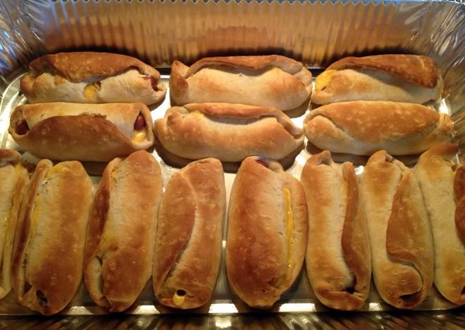 Cheesy Hotdog Pockets