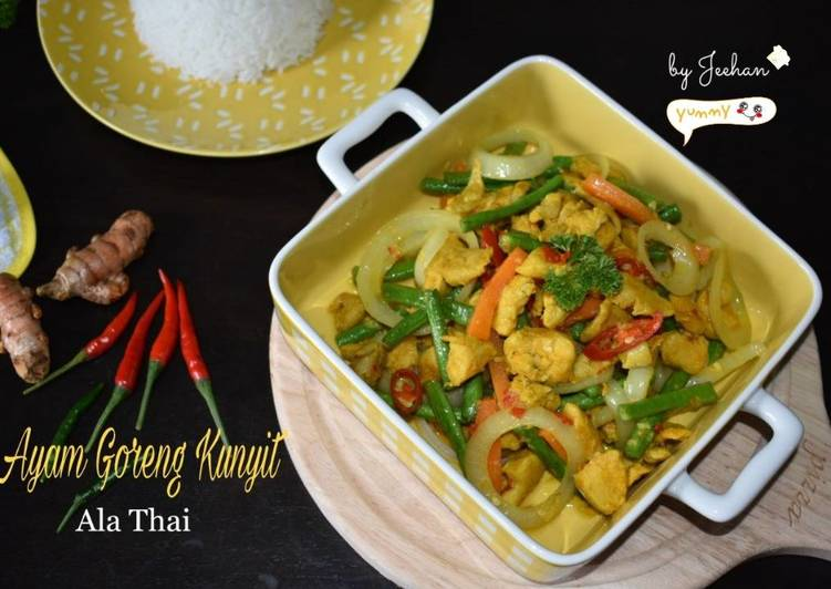 AYAM GORENG KUNYIT Ala Thai - velavinkabakery.com