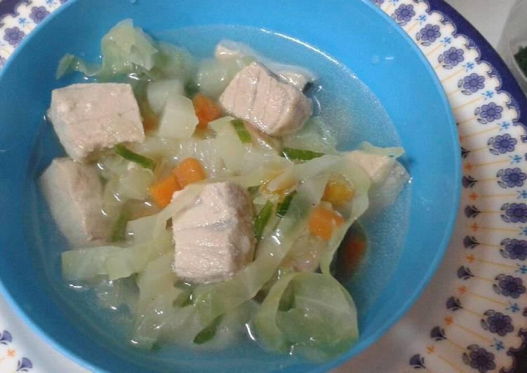 sup ikan marlin