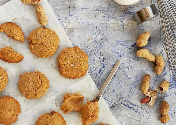 Comment faire Faire Parfait Cookies peanut butter !