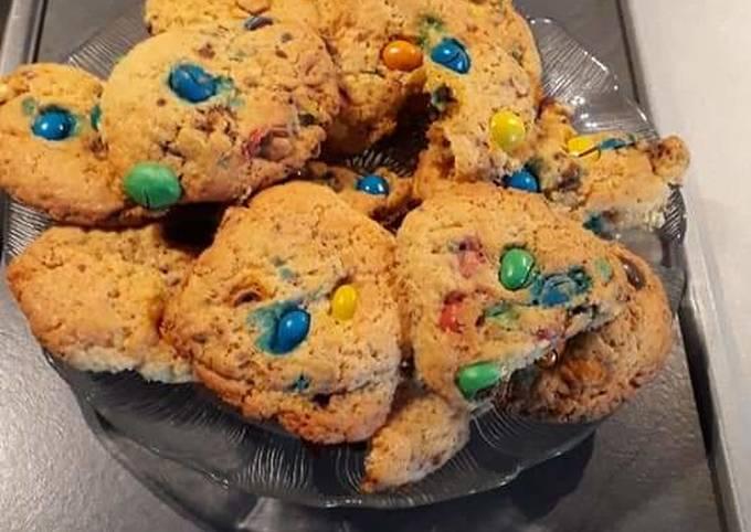 Cookie au m&m's
