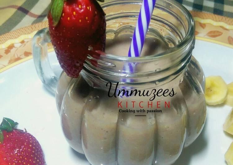 Recipe of Homemade Banana & Dry fig shake