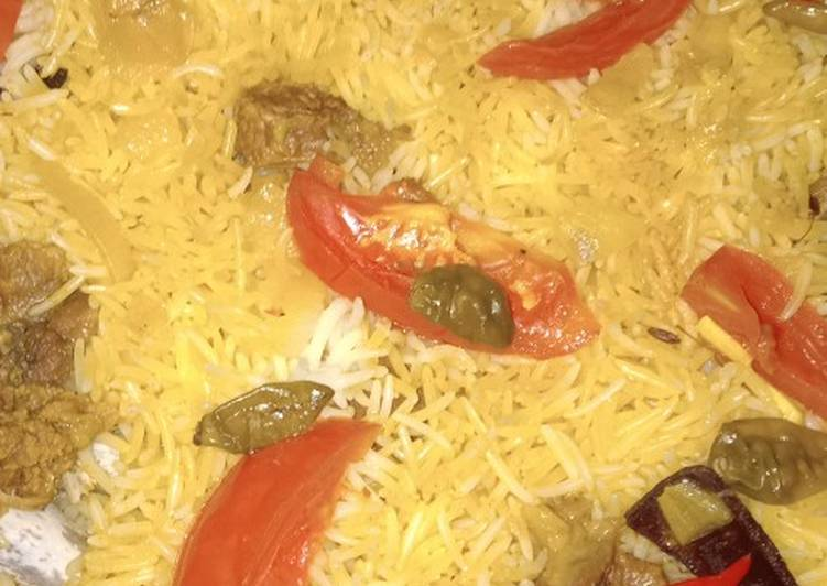 Nasi Briyani Kambing (Mejicom)