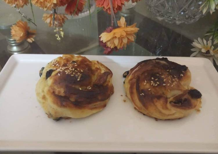 Recipe of Ultimate Black current buns