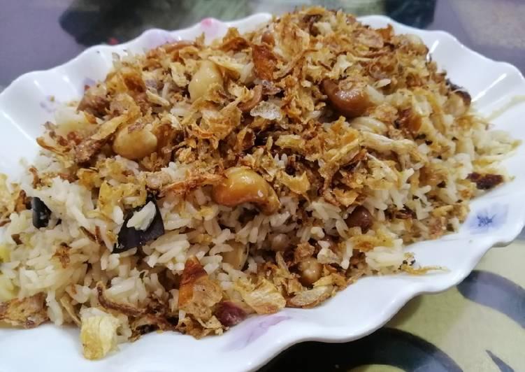 Recipe of Homemade Kaju Rice (Cashewnut Rice)
