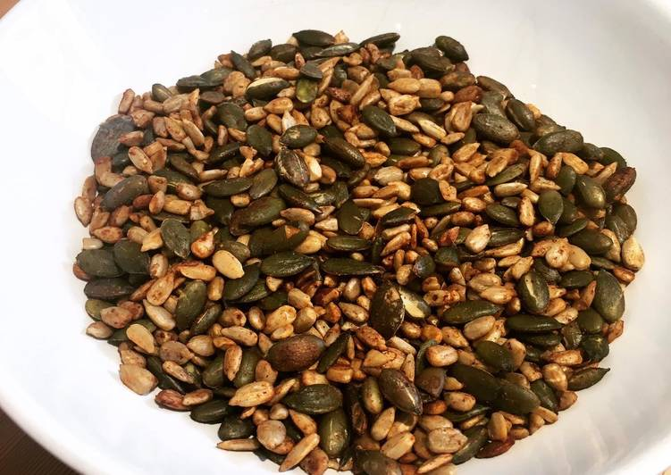 Recipe of Perfect Salty Tamari Seed Snacks