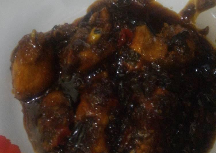 Ayam Goreng Kecap Pedas